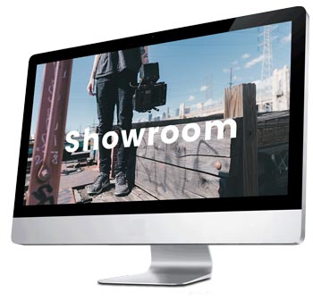 video showroom button